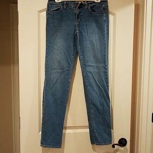 Pink Victoria Secret skinny jeans